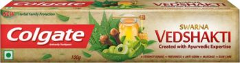 Colgate Swarna Vedshakti Toothpaste  (100 g) at Rs.1 – Flipkart Supermarket
