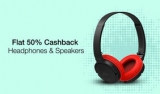 Paytm Big Ausio Sale : Get 50% Cashback On Audio devices and headphones