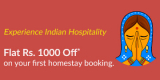Flat Rs.1000 off on first stay