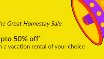Up to 50% off on homestay sale