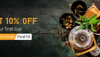 10% off on your first cup