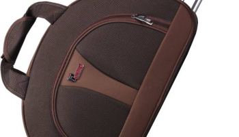 Flipkart: Buy F Gear 2390a 24 inch/60 cm Travel Duffel Bag (Brown) at Rs 1600 only