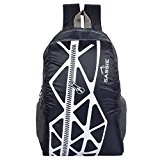 SASSIE Polyester  Blue School Backpack of Rs.799 at Just Rs.299/-