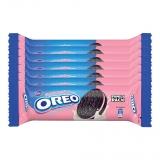 Oreo Cadbury Strawberry Cream Biscuit, 120g (Pack of 7) at Rs.37