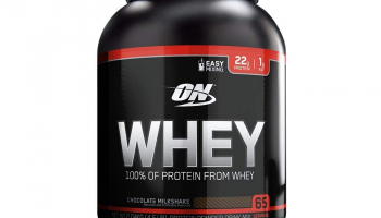 Optimum Nutrition (ON) 100% Whey Protein Powder – 4.5 lbs (Chocolate Milkshake) at Rs. 2649