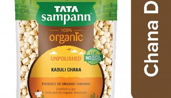 Tata Sampann Organic Chana Dal, 1kg @85