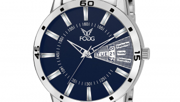 Fogg Analog Blue Day Watch at Rs.480(MRP=Rs.1790)