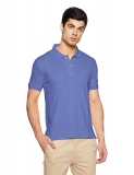 John Players Men's Plain Slim Fit T-Shirt at Rs. 235