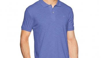 John Players Men's Plain Slim Fit T-Shirt at Rs. 235