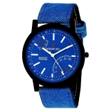Golden Bell Original Blue Dial Blue Strap Analog Wrist Watch for Men Of Rs.1499 at Just Rs.329/- (1 Year Warranty)