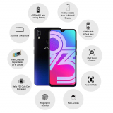 Vivo Y93 1814 (Starry Black, 3GB RAM, 64GB Storage) with Offer  at Rs.10599