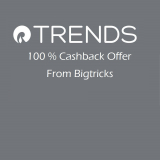 [live]Reliance Trends:Shop for Rs.150 or More and get Rs.150 BT Cashback