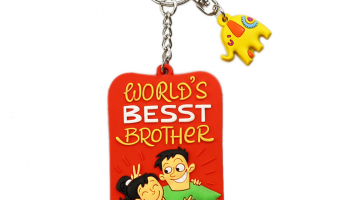Best Brother Keychain