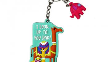 Best Dad Keychain