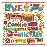 Love Is Yum Print
