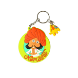 Namaste Keychain