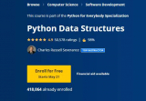 Python Data Structures Course Free on Coursera