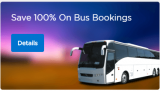 100% Super Cash on Bus Booking From Mobikwik