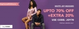 Koovs – Upto 70% +  20% Off on Clothing.