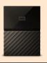 WD My Passport WDBYNN0010BBK 1 TB Portable External Hard Drive at Rs.2781