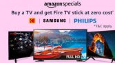 Buy a TV From Amazon & Get Free Fire Stick [Add both in Cart]