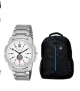 Timer stylish Combo of Watch and Hp laptop bag at Rs.399