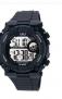 QQ Round Dial Black Fabric Strap Men Digital Watch At rs.34 three Options