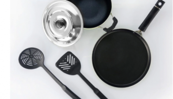Sumeet Aluminium Non-Stick Cookware- Set Of 4 at Just Rs.309