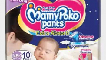 MamyPoko Pants Extra Absorb Diapers NB-0 – New Born@99