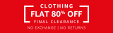 Amazon Clarence  Sell – Get Flat 80% Off