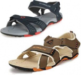 [LOOT]Globalite Men Multicolor Sandals Pack of Two At Rs.395 Only + More
