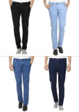 Pack Of 2 Cotton Rich Stretchable Jeans of Rs.2499/- at Just Rs.799/-
