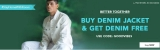 KOOVS : Buy Denim Jacket & Get Denim Free