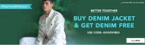 KOOVS : Buy Denim Jacket & Get Denim Free