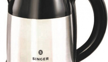 Singer SKT 180 ASE Electric Kettle  (1.8 L, Silver, Black) at Rs.649